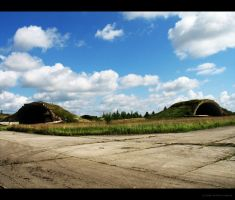 Airplane Hangars by Gustavs
