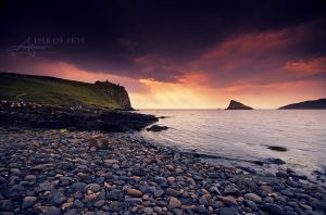 Duntulm Beach by Stridsberg