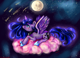Princess Luna by LizzyRascal
