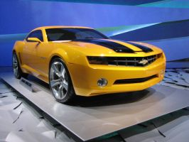 Chevrolet Camaro Bumblebee -3 by Big-D-pictures