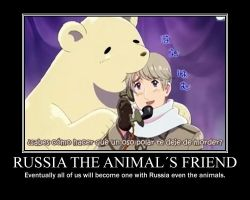 Russia friend of the animals by animefanxD
