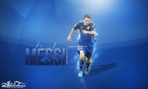 wallpaper lionel messi 2014 by Designer-Abdalrahman