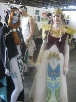 two princesses at Japan expo by Narayu