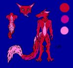 Female Sergal adopt 2 (10 points) |||OPEN||| by sheepylizzy