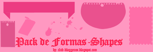 Packs de Shapes-Formas by clubbloggeras