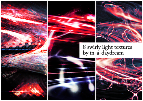 Swirly Light Textures III by in-a-daydream