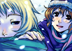 Aren't You Cold? by Loli-King