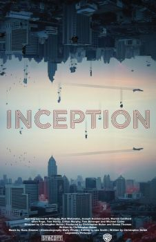 Inception - Fan Art Poster by AlexHorakDesigns