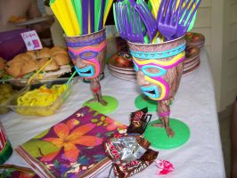 Tiki Cups and Twix Wrappers by INeedAPenName
