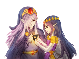 wip vaati and hilda by onisuu