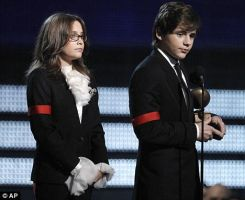 Paris and Prince in the Grammy by Paris-Jackson