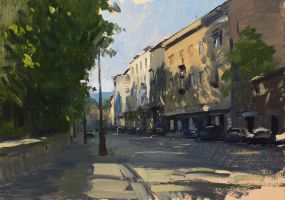 Afternoon Shadows, Ribnjak (Zagreb) by marcdalessio