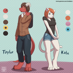 Meet Taylor and Kate! by Zeta-Haru