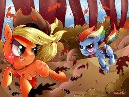 Running of the Leaves by RubyPM
