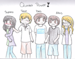 The Power of the Quintet by mamoru14