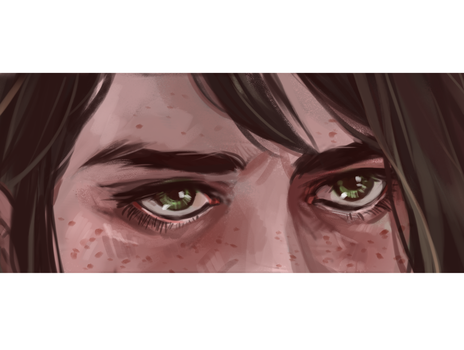 Her eyes by lesly-oh