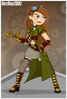 Steampunk Kim Possible by hotrod2001