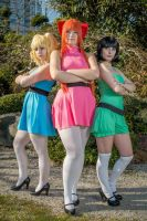 Power Puff Kick your Butt by OppositeCosplay