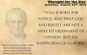 Thought for the Day - August 24th, 2013 by ebturner