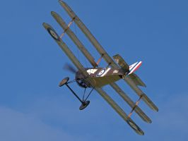Sopwith Triplane Flypast by davepphotographer