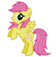 MLP Blind Bag Card: #6 Fluttershy by Names-Tailz
