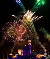 Disney Fireworks by ExplicitStudios