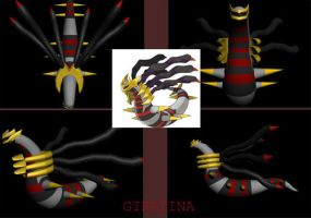 Pokemon: 3D Giratina by xboxdude7281