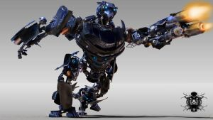 Hot Rod Autobot by ironconquest86