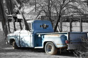 Forgotten Chevy by ShannonCPhotography