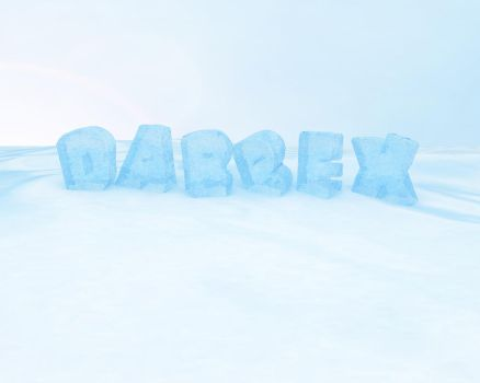 Ice Letters Wallpaper v.1 by dabbex30