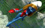 Smurfette lifeguard by kondaspeter1