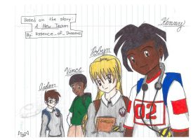 Kenny, Robyn, Vince, and Aiden by EsscenceofDreamz