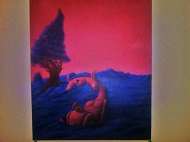 Another B day painting by MSCajax