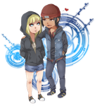 Love and Partnership~ (Lucy and Delsin Rowe) by MyangHime