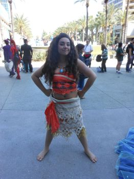 Wondercon 2017 , Moana, Disney by DougSQ
