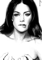 Doutzen Kroes Sketch by indi1288