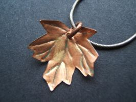 Golden Leaf by Adreanna