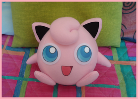 Jigglypuff - Pokemon Plush by Mokachiko