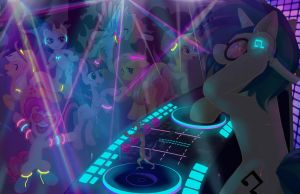 MLP Rave by animefreak0o