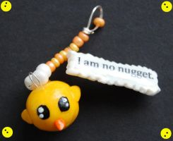 I am no nugget. by Sinann