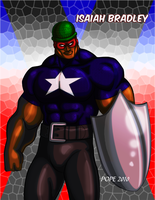 Captain America by hulkdaddyg