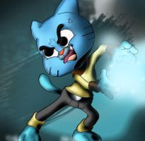 Gumball Watterson Joins Street Fighter! by WaniRamirez