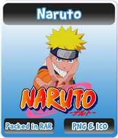 Naruto - Anime Icon by Rizmannf