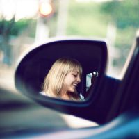 car mirror by RobbyP