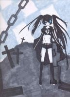 Black Rock Shooter by 7thholyscripture