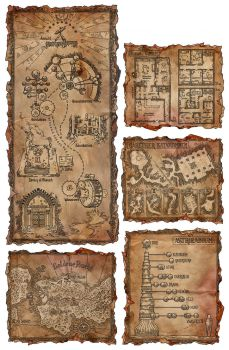 A Bunch of Ingame-Maps #2 by SteffenBrand
