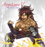 Contest Arpharov Full color by Pablo-cakra