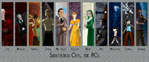 Shattered City Cast by kaitou-kage