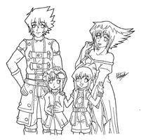 DarkSpiritshipping Family - Family Time by FMAKHR102