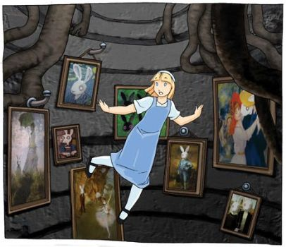 alice in wonderland by RodEspinosa